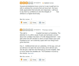 online reviews, service recovery