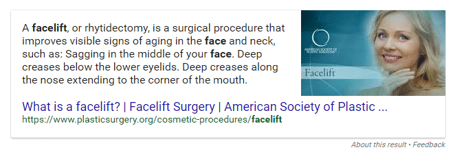 featured snippet, google, knowledge graph, empowered doctor